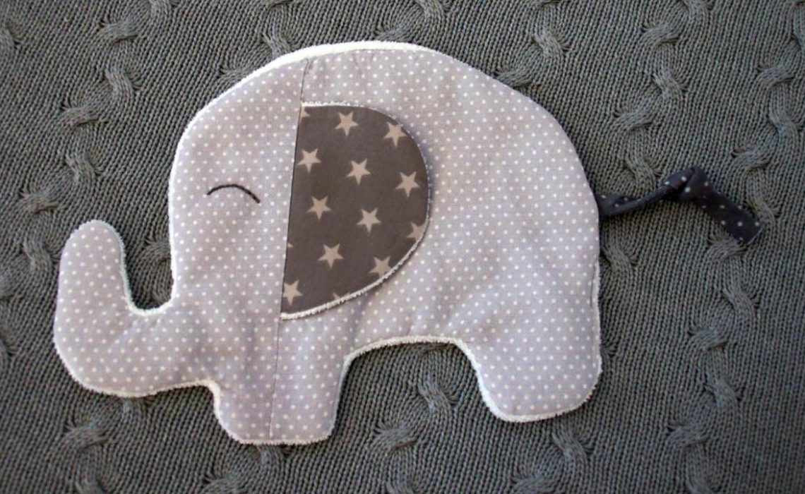 Baby Schmuse & Knistertuch Elefant