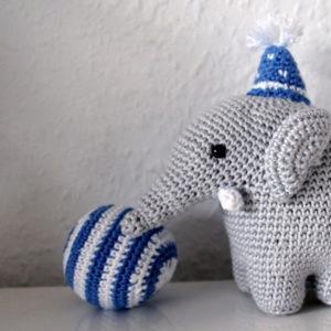 Kinderwagenkette Elefant Mit Name Anleitung Kerrilottade