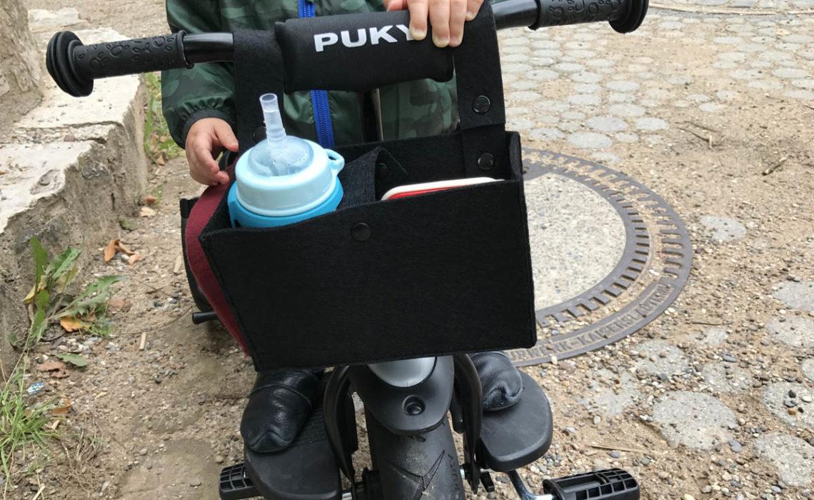 DIY Anleitung Lenkertasche für Puky Dreirad