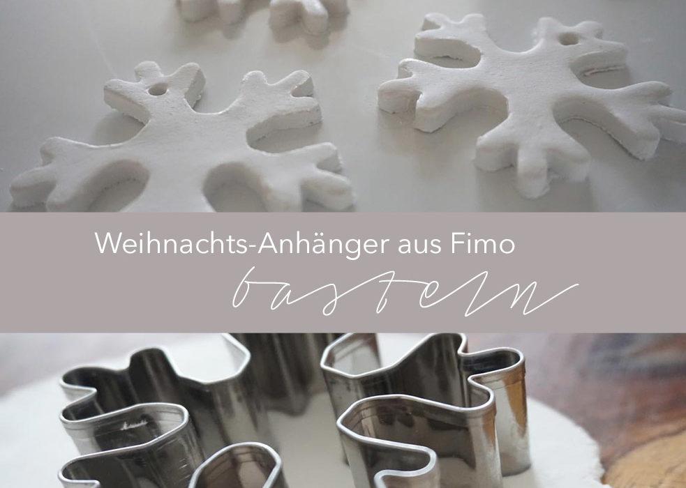 Christbaum-Anhänger aus Fimo basteln