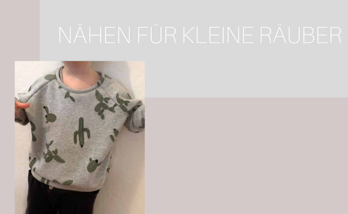 """Kinder Sweatshirt """"Mona"""" nach Schnittmuster von Studio Schnittreif"""