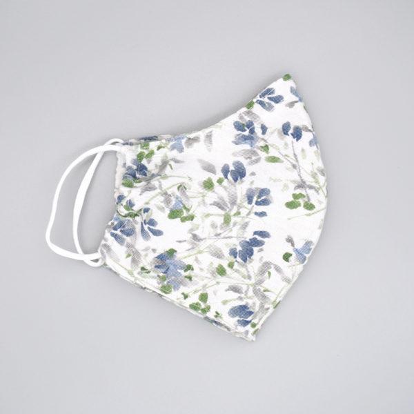 Behelfsmaske / Mund-Nasen-Schutz Erwachsene Blumen