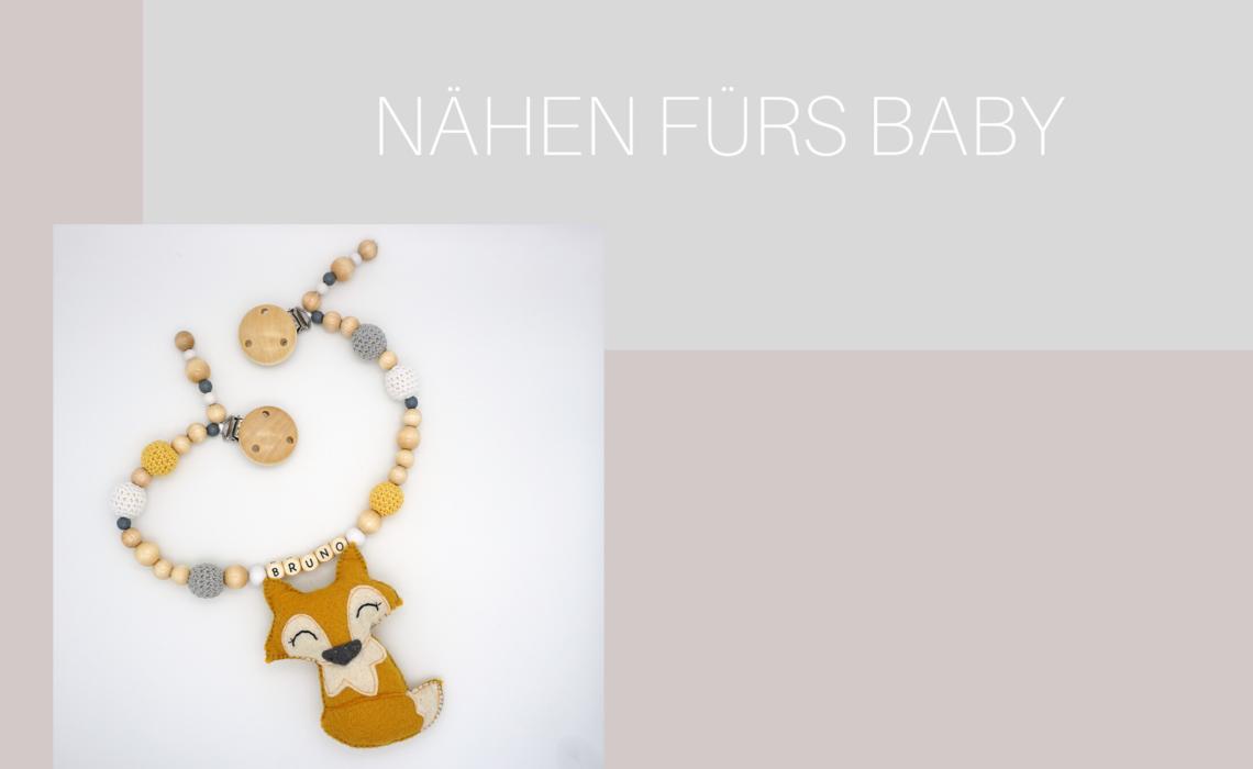 Kinderwagenkette Fuchs Nähen DIY