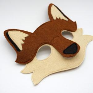 Kinder Filzmaske Fuchs