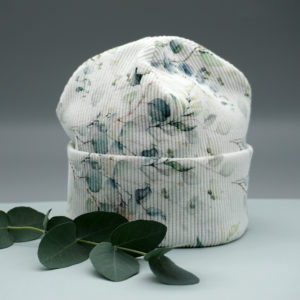 Baby Hipster Beanie °Pepe° (0-6 Monate) Eukalyptus
